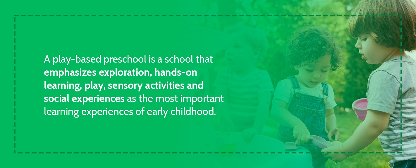 What Is a Play-Based Preschool?