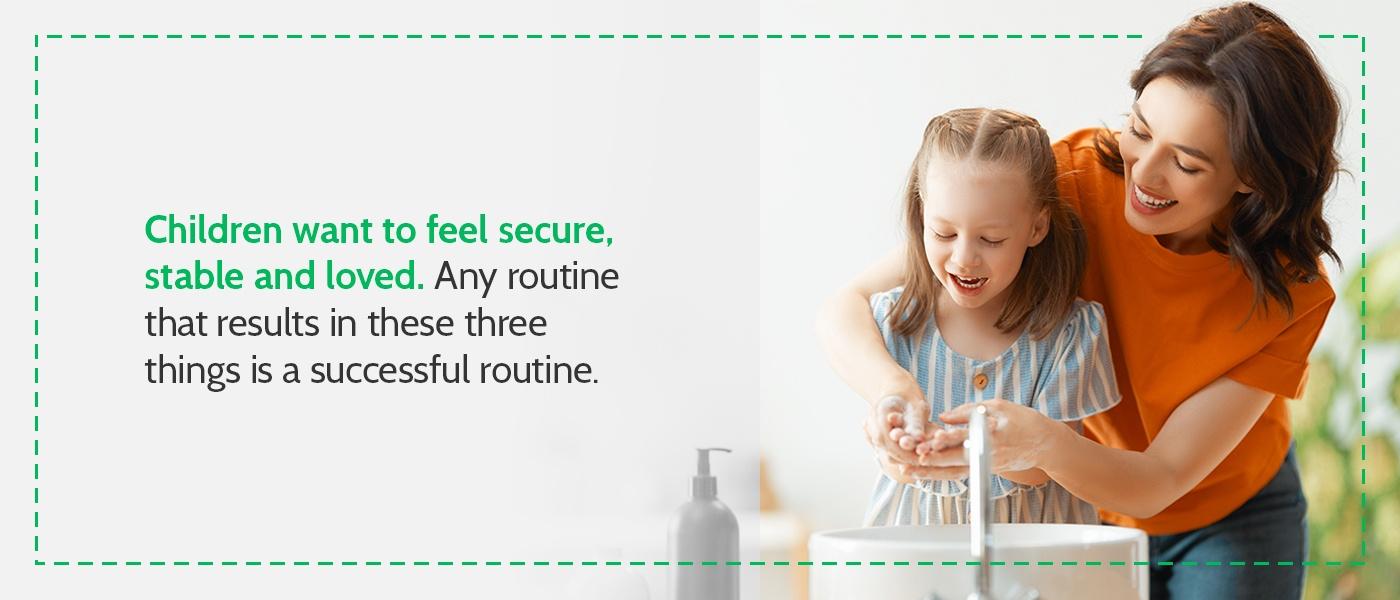 Children Feel Secure