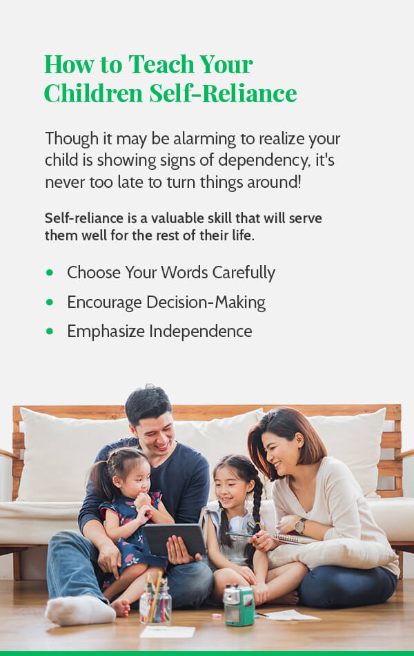 How to Teach Your Children Self-Reliance